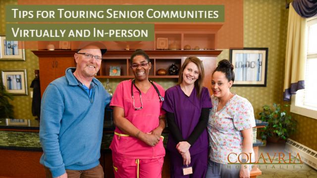 6 Tips for Touring Senior Communities Virtually and In-person