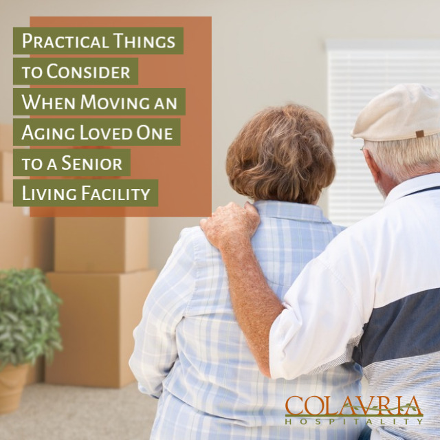 5 Things to Consider When Moving an Aging Loved One to a Senior Living Facility