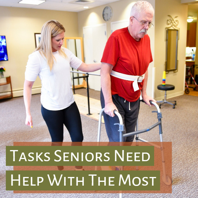 5 Common Tasks Seniors Need Assistance With